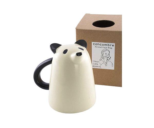 Diseño de taza o Jarro con forma de oso panda