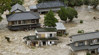 At least 179 dead  Japan  floods
