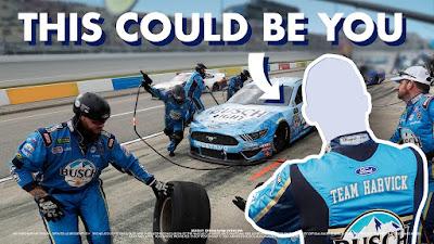 Win a Job of a #NASCAR Fan's Lifetime