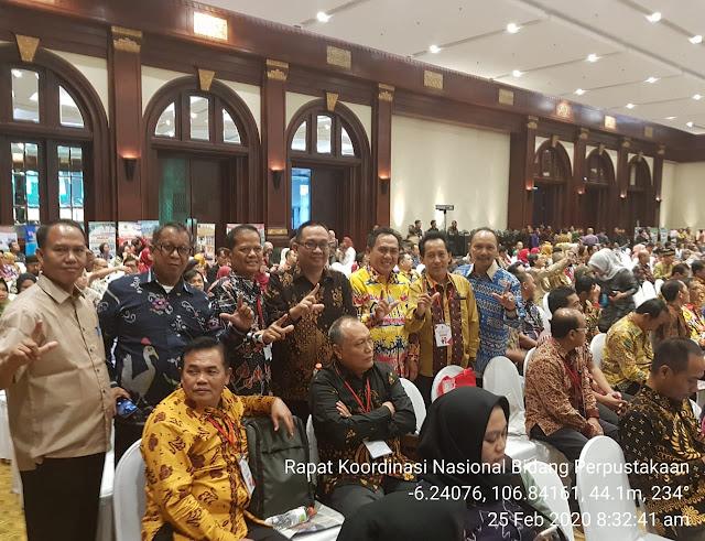 Rapat Koordinasi Nasional Bidang Perpustakaan Tahun 2020, di Ballroom Birawa Hotel Bidakara, JakSel