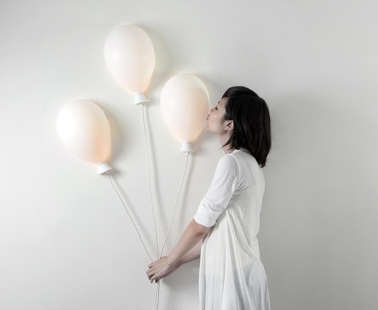 Balonowa lampa