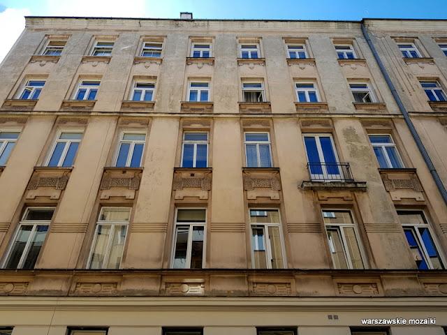 Warszawa Warsaw kamienica przedwojenna architektura Powiśle architecture