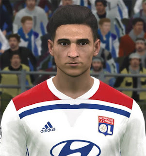 PES 2017 Faces Houssem Aouar by Huseyn