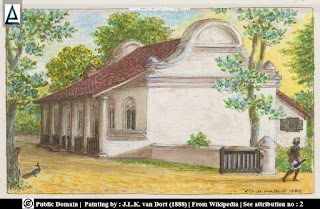 A painting of Matara Dutch Reformed Church