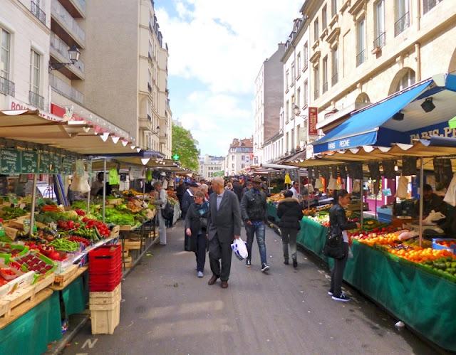 Mercados de rua de Paris