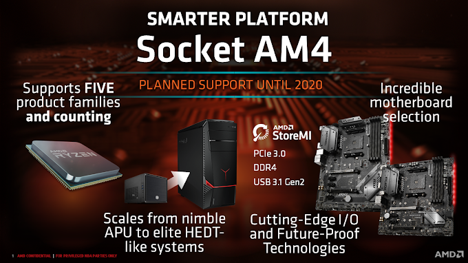 AMD Unveils Its Mid-Range Motherboards With B450 Chipset