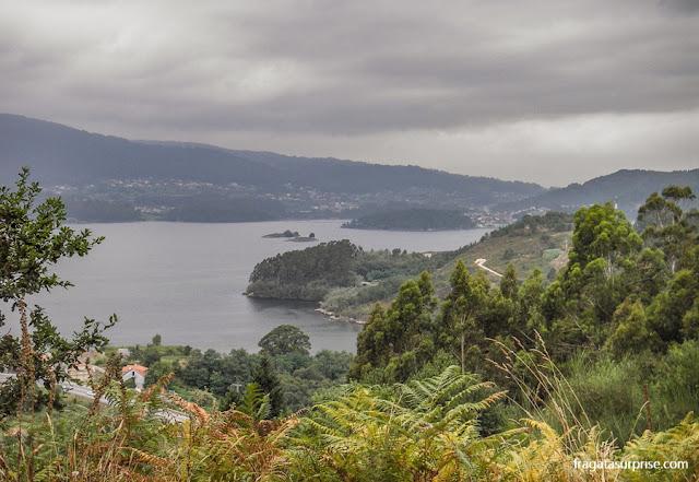Ria de Vigo, Galícia, Caminho de Santiago