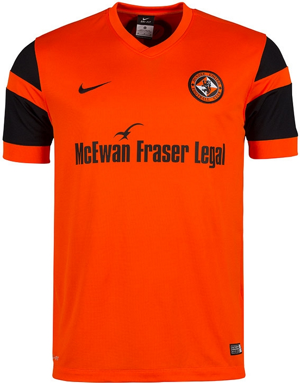 4a504ca472 Nike apresenta nova camisa titular do Dundee United - Show de Camisas