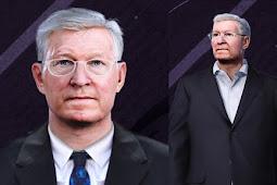Alex Ferguson Manager Face - PES 2020