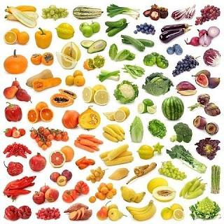 Влияние на здоровье цвета продуктов питания