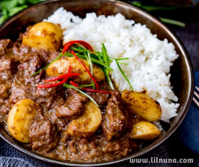 Homemade Beef Massaman Curry