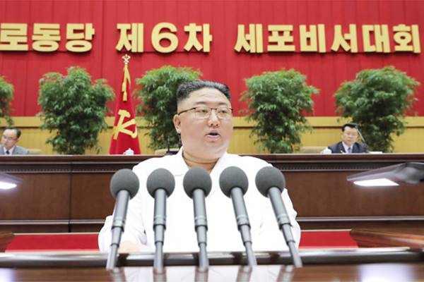 kim jong un closing address at 6th cell secretaries conference