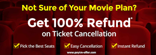 Paytm Offers On Movies - 50% Off Coupons Promo Codes On Movies
