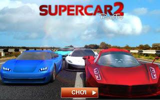 Chơi game đua xe siêu tốc độ gây cấn