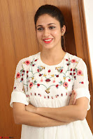 Lavanya Tripathi in Summer Style Spicy Short White Dress at her Interview  Exclusive 225.JPG