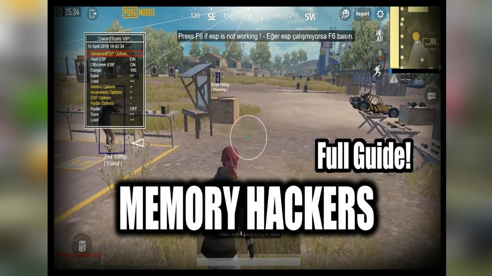 Memory Hackers Pubg Mobile Emulator | Hack Pubg Mobile China