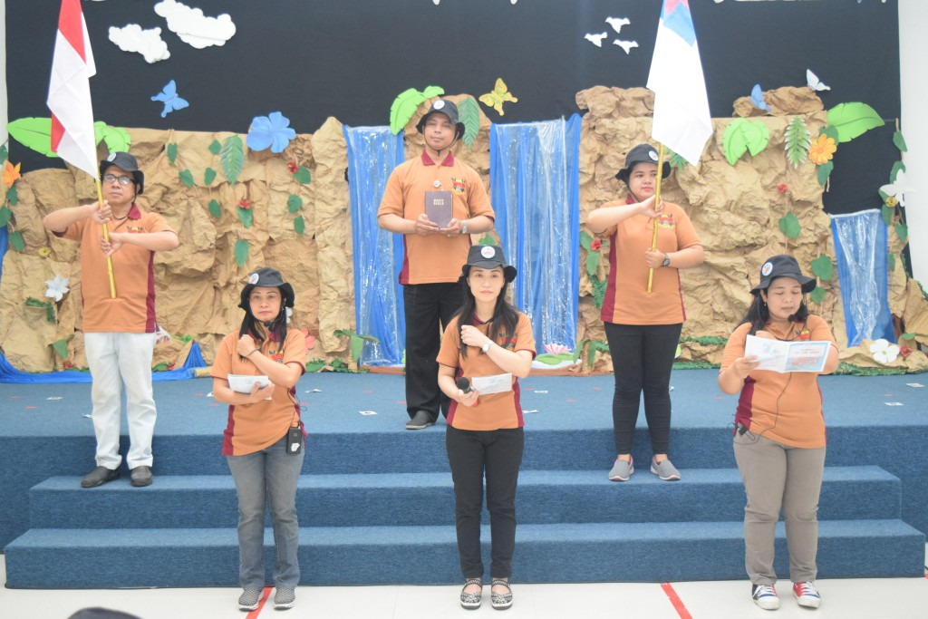 VBS KB-TK Kristen Kalam Kudus Surakarta 2019 Hari Pertama: In The Wild