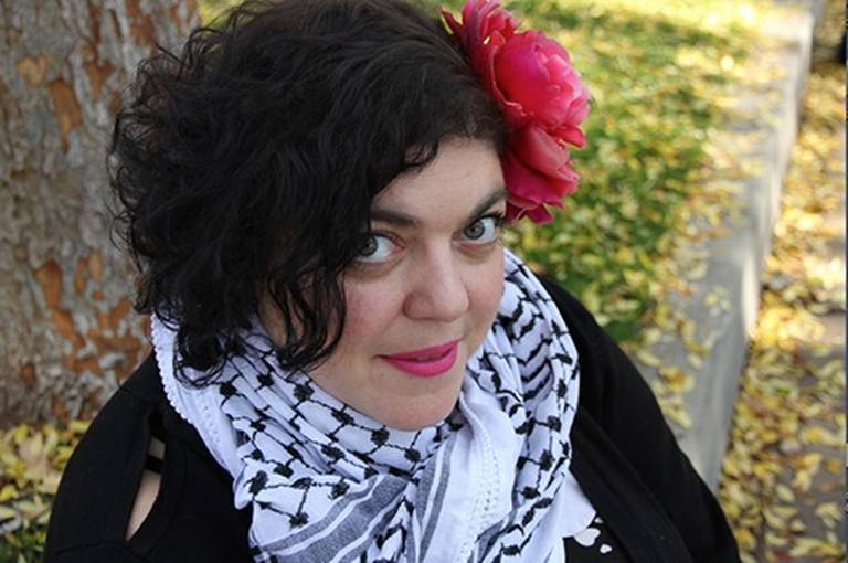 Who is the Fresno State professor who called Barbara Bush an 'amazing racist'?