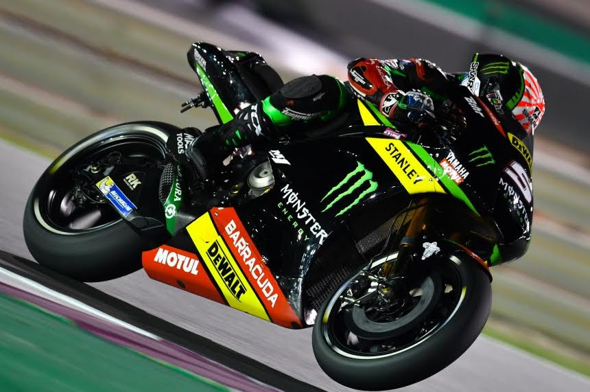 Diretta MotoGP 2018 Qatar Streaming: partenza gara in TV, Zarco in Pole, Valentino 8°