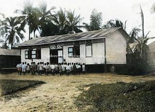 sekolah dan gereja rheinische missiongesellschaft di kota pematangsiantar
