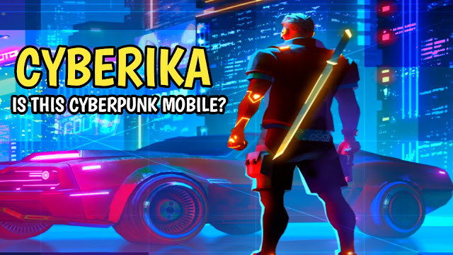Cyberika action rpg online mobile game