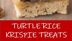 #recipe #food #drink #delicious #family #TURTLE #RICE #KRISPIE #TREATS