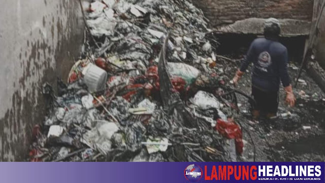 Pasukan Orange & Prokasih Pringsewu Perangi Sampah Guna Cegah Pencemaran Lingkungan