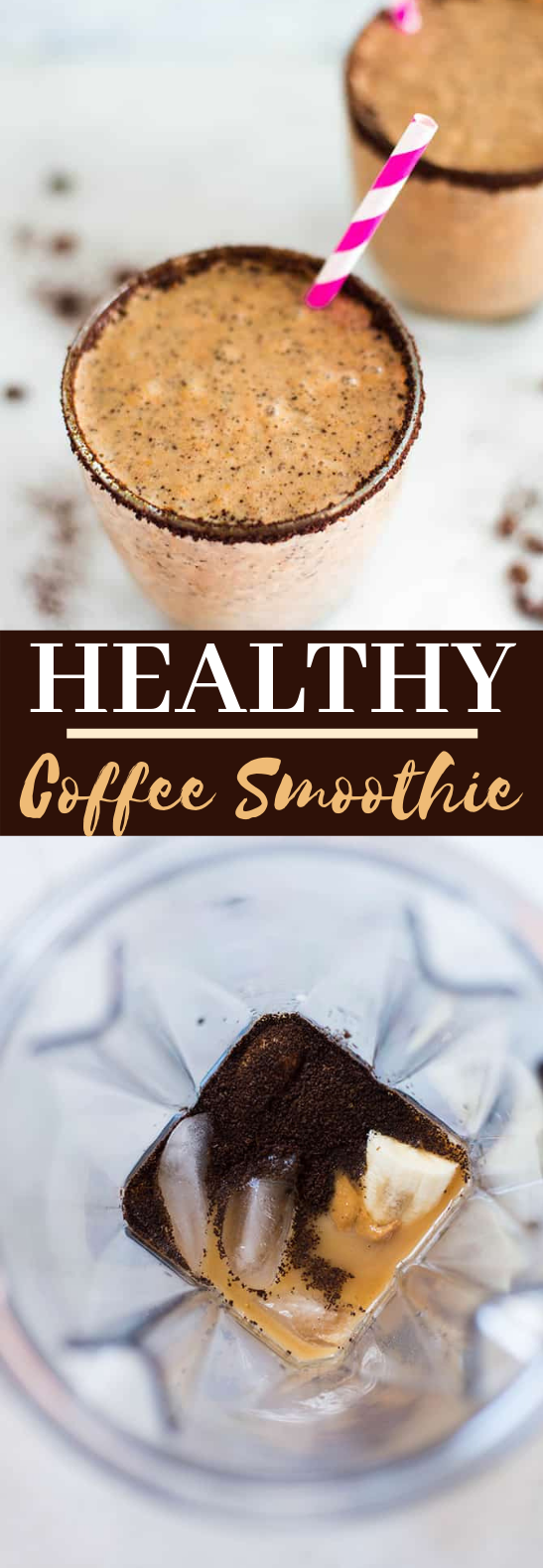 Healthy Coffee Smoothie #drinks #smoothies