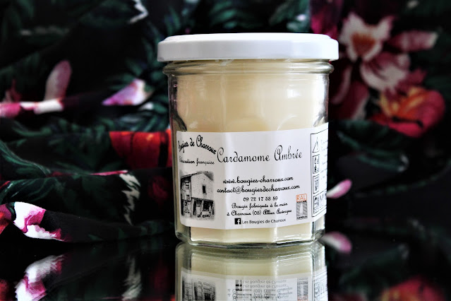 bougies de charroux cardamome ambrée avis, les bougies de charroux, bougies de charroux avis, bougie parfumée charroux, cardamome ambrée les bougies de charroux, candle blog, blog sur les bougies parfumées, parfum d'ambiance