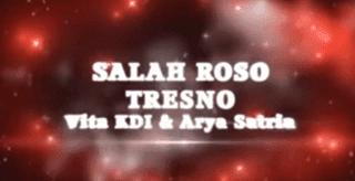 Lirik Lagu Salah Roso Tresno - Vita KDI