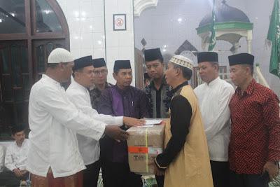 Kakankemenag Tanjungbalai Dampingi Kakanwil Kemenagsu Safari Ramadhan ke Masjid Jami' Ussabil
