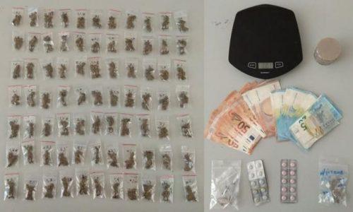 Αστυνομικοί της Υποδιεύθυνσης Ασφάλειας Ιωαννίνων και του Τμήματος Δίωξης Ναρκωτικών της ίδιας Υποδιεύθυνσης προχώρησαν στη σύλληψη δύο ατόμων, σε δύο διαφορετικές περιπτώσεις, που κατηγορούνται για κατοχή και διακίνηση ναρκωτικών.