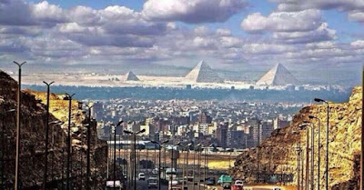 Figure: These historic pyramids are in which city?