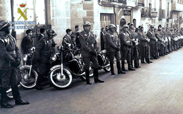 Guardia Civil de Tráfico que mandó el teniente Juanito (Foto de Internet)