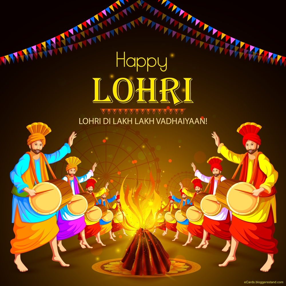 Happy lohri greetings 2021 images