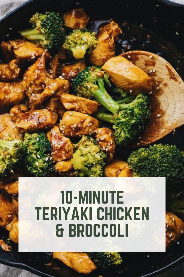 10-Minute Teriyaki Chicken & Broccoli #healthyrecipeseasy #healthyrecipesdinnercleaneating #healthyrecipesdinner #healthyrecipesforpickyeaters #healthyrecipesvegetarian #HealthyRecipes #HealthyRecipes #recipehealthy #HealthyRecipes #HealthyRecipes&Tips #HealthyRecipesGroup  #food #foodphotography #foodrecipes #foodpackaging #foodtumblr #FoodLovinFamily #TheFoodTasters #FoodStorageOrganizer #FoodEnvy #FoodandFancies #drinks #drinkphotography #drinkrecipes #drinkpackaging #drinkaesthetic #DrinkCraftBeer #Drinkteaandread