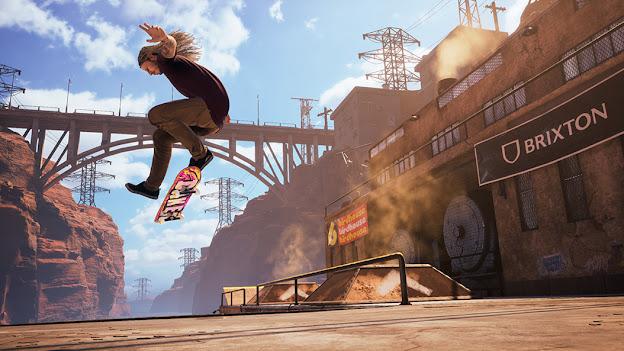 Tony Hawk's Pro Skater 1 + 2 Scene