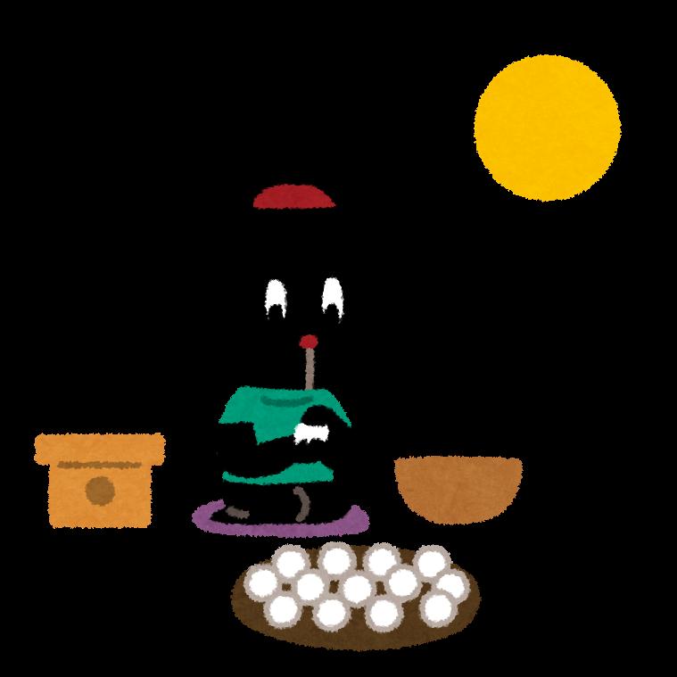中秋の名月はいつか・食べ物・十五夜との違い・別名と読み方