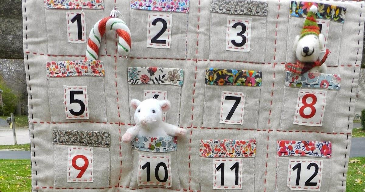 Molly Flanders Liberty And Linen Advent Calendar