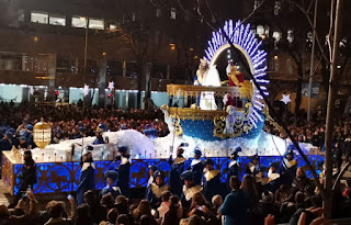 Cabalgata de Reyes 2020 de Madrid.