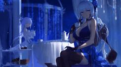 AzurLane 碧蓝航线 ILLUSTIOUS x UNICORN 光辉x独角兽 2K 30fps [Wallpaper Engine Anime]