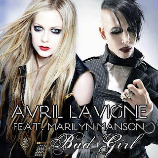"Pochette du single de ""Bad Girl"""