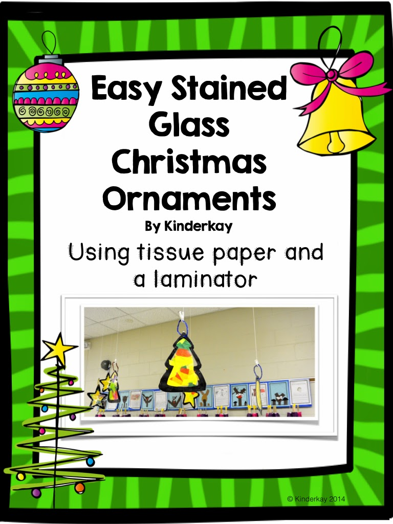 http://www.teacherspayteachers.com/Product/Easy-Tissue-Paper-Stained-Glass-Christmas-Ornaments-1607214