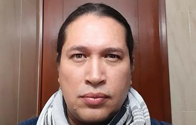Omar Bello Pineda, integrante de la Asociación Mexicana de Periodistas Desplazados y Agredidos