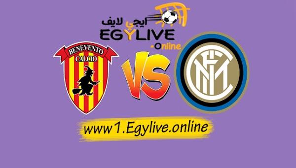 نتيجة مباراة انتر ميلان وبينفينتو اليوم بتاريخ 30-09-2020 في الدوري الايطالي