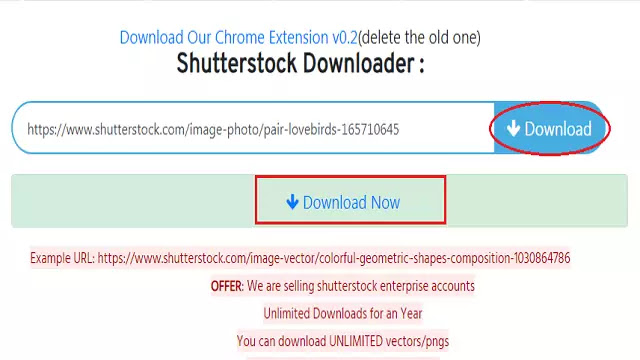 Download ShutterStock Images without Watermark