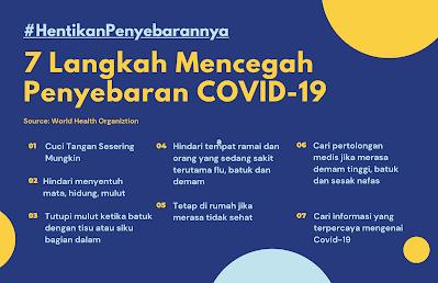 7 langkah mencegah covid-19