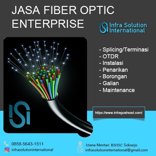 Jasa Splicing Fiber Optic Gresik Enterprise
