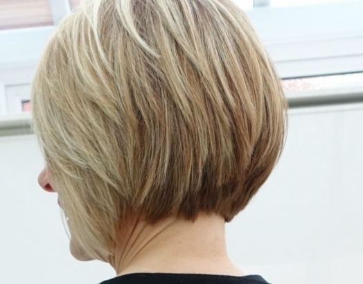 Stacked bob by Toni and Guy Epping, UK