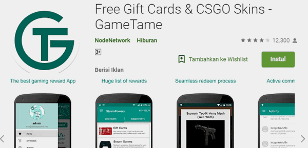 game tame aplikasi penghasil voucher google play gratis
